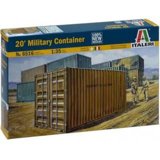 Model Kit doplňky 6516 - 20 ' MILITARY CONTAINER (1:35)