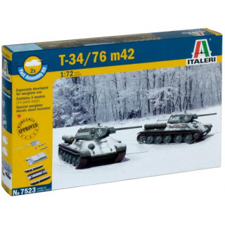Fast Assembly tanky 7523 - T 34 / 76 m42 (1:72)