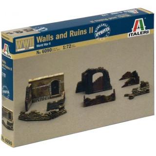Model Kit doplňky 6090 - WALLS AND RUINS II (1:72)