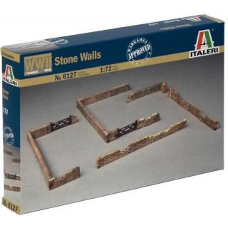 Model Kit doplňky 6127 - STONE WALLS (1:72)