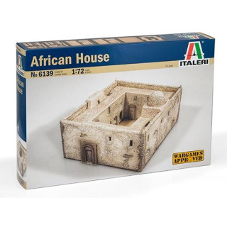 Model Kit budova 6139 - African House (1:72)