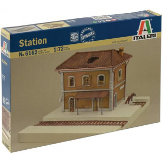 Model Kit diorama 6162 - RAIL STATION (1:72)