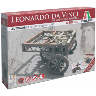 Leonardo Da Vinci 3101 - SELF PROPELLING CART (11 cm)