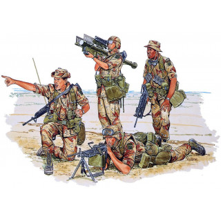 Model Kit figurky 3006 - U.S. 82nd AIRBORNE (1:35)