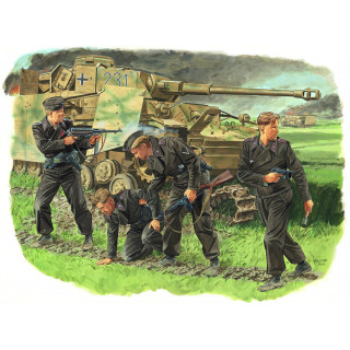 Model Kit figurky 6129 - SURVIVORS, PANZER CREW (KURSK 1943) (1:35)