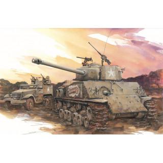 """Model Kit tank 6183 - M4A3E8 """"THUNDERBOLT VII"""" (1:35)"""