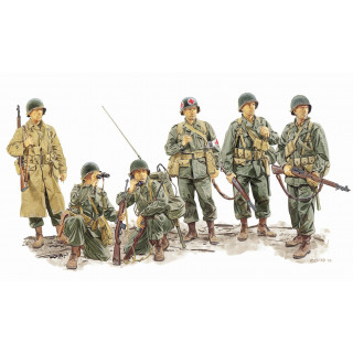 Model Kit figurky 6271 - ADVANCE TO THE RHINE (U.S. 1st ARMY AT REMAGEN 1945) (1:35)