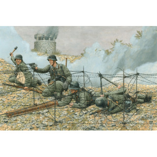 Model Kit figurky 6538 - GEBIRGSPIONIERE, METAXAS LINE 1941 (1:35)