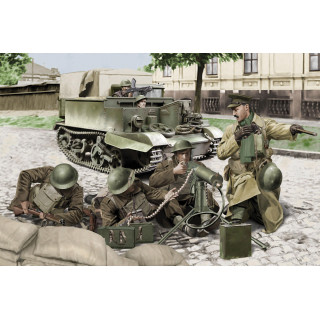 Model Kit figurky 6552 - BRITISH EXPEDITONARY FORCE, FRANCE 1940 (1:35)