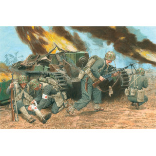 Model Kit figurky 6554 - U.S. MARINES, PELELIU 1944 (1:35)