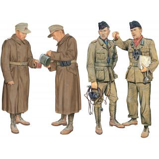 Model Kit figurky 6693 - DAK PANZER & ARTILLERY CREW (LIBYA 1941) (1:35)