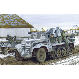 Model Kit military 6719 - 5cm PaK 38 auf Zugkrafteagen 1 t (1:35)