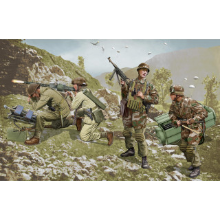 Model Kit figurky 6743 - German Brandenburg Troops (Leros 1943) (1:35)