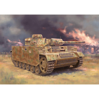 Model Kit military 6776 - Pz.Kpfw. III (FI) Ausf.M w/Schurzen (1:35)