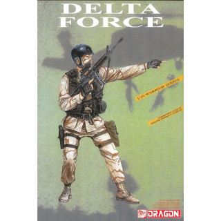 Model Kit figurky 1610 - DELTA FORCE (1:16)