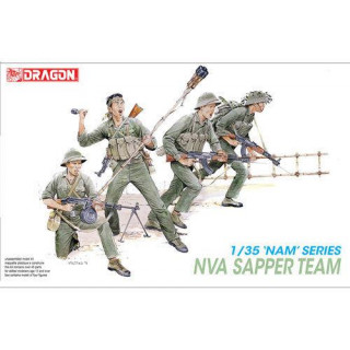 Model Kit figurky 3308 - NVA SAPPER TEAM (1:35)