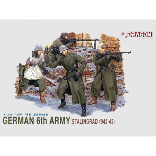 Model Kit figurky 6017 - GERMAN 6TH ARMY (1:35)