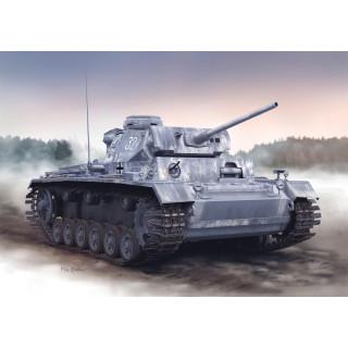 Model Kit tank 6387 - PZ.KPFW.III AUSF. L LATE PRODUCTION w/WINTERKETTEN (SMART KIT) (1:35)
