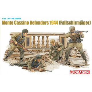 Model Kit figurky 6514 - MONTE CASSINO DEFENDERS 1944 (FALLSCHIRMJÄGER) (1:35)