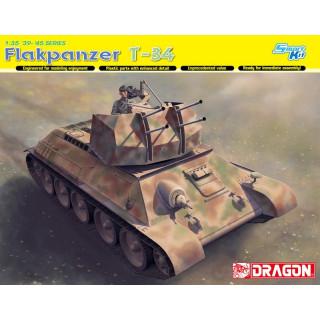 Model Kit military 6599 - Flakpanzer T-34 (1:35)