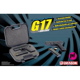 Model Kit zbraň 1301 - G17 + GUN CASE (1:3)