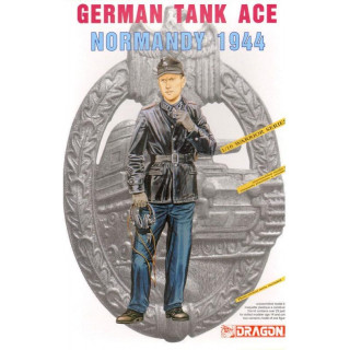 Model Kit figurky 1609 - GERMAN TANK ACE (NORMANDY 1944) (1:16)