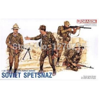 Model Kit figurky 3002 - SOVIET SPETSNAZ (1:35)