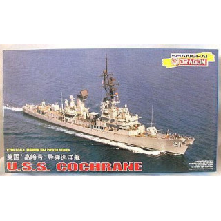 Model Kit loď 7024 - U.S.S. COCHRANE (1:700)
