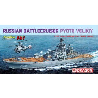Model Kit loď 7074 - RUSSIAN BATTLECRUISER PYOTR VELIKIY (1:700)