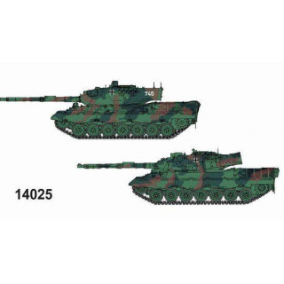 Model Kit tanky 14025 - LEOPARD 1A4 + LEOPARD 1A5 (1:144)