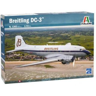 Model Kit letadlo 1393 - BREITLING DC-3 (1:72)