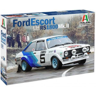 Model Kit auto 3655 - FORD ESCORT RS1800 Mk. II (1:24)