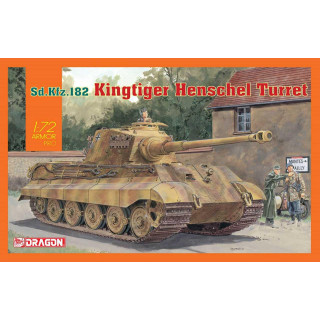 Model Kit tank 7558 - Sd.Kfz.182 Kingtiger Henschel Turret (1:72)