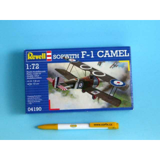 Plastic ModelKit letadlo 04190 - Sopwith F-1 Camel (1:72)