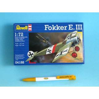 Plastic ModelKit letadlo 04188 - Fokker E.III (1:72)