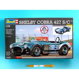 Plastic ModelKit auto 07367 - Shelby Cobra 427 S/C (1:24)