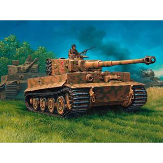 Plastic ModelKit tank  03116 - PzKpfw IV 'Tiger' I Ausf.E  (1:72)