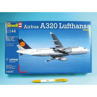 Plastic ModelKit letadlo 04267 - Airbus A320 Lufthansa (1:144)