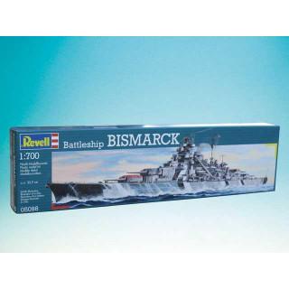 Plastic ModelKit loď 05098 - Battleship Bismarck (1:700)