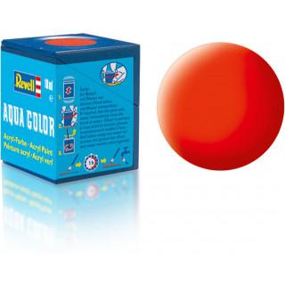 Barva Revell akrylová - 36125: matná světle oranžová (luminous orange mat)