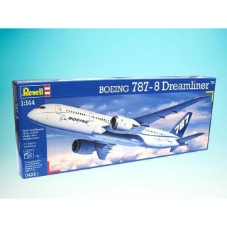 Plastic ModelKit letadlo 04261 - Boeing 787 Dreamliner (1:144)