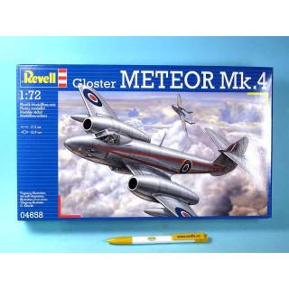 Plastic ModelKit letadlo 04658 - Gloster Meteor Mk.4 (1:72)