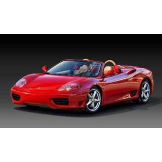 Plastic ModelKit autó 07085 - Ferrari 360 Spider (1:24)