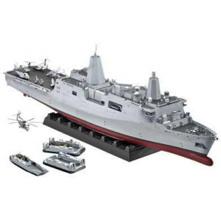 Plastic ModelKit hajó 05118 - Amphibious Transport Dock U.S.S. New York (LPD-21) (1:350)