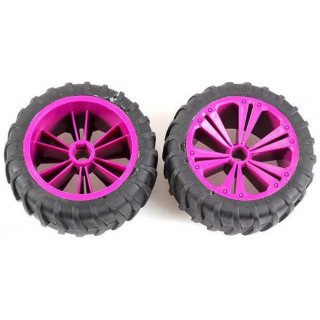 REVELL - REVELLUTIONS (47033) - Set 2x Wheel for Monster, lilac