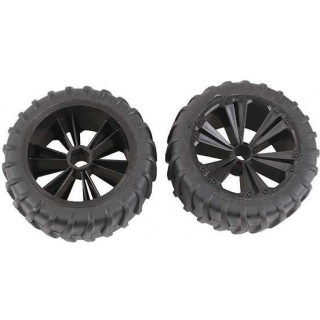 REVELL - REVELLUTIONS (47209) - Set 2x Wheel for Monster, black