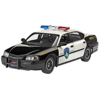 Plastic ModelKit autó 07068 - '05 Chevy Impala Police Car (1:25)