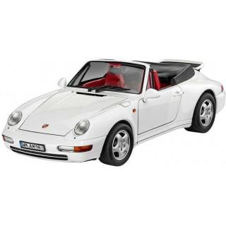 Plastic ModelKit autó 07063 - Porsche 911 Carrera Cabrio (1:24)