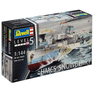 Plastic ModelKit hajó 05132 - Flower Class Corvette (early) (1:144)