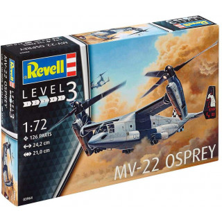 Plastic ModelKit letadlo 03964 - Bell® MV-22 Osprey (1:72)